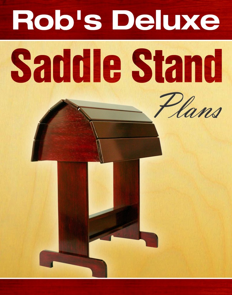 Rob's Deluxe Saddle Stand Plans